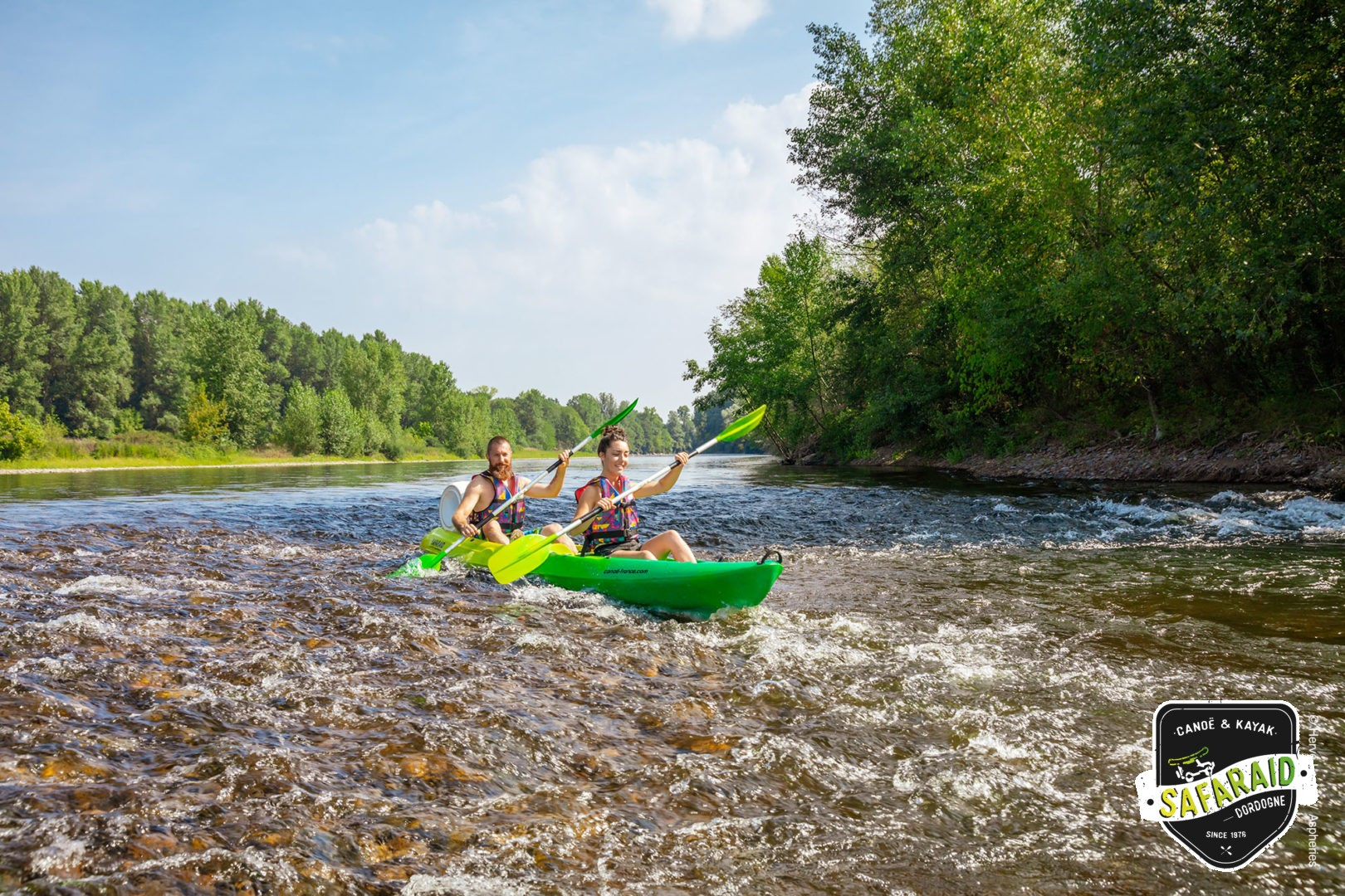 Kayak 2/3 places Tribal Pro