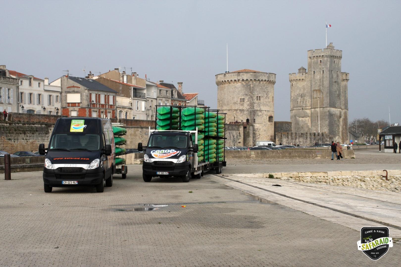 1000 sabords La Rochelle 2013 - Raid avec Canoë Safaraid dans toute la France