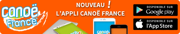 Die mobile App Canoë France