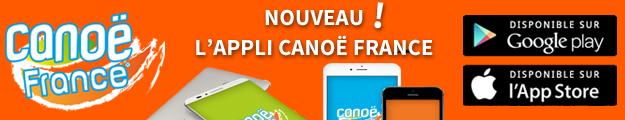 L'appli Canoë France