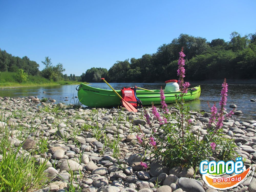 Canoeing chalet holidays on Dordogne river, in Lot
