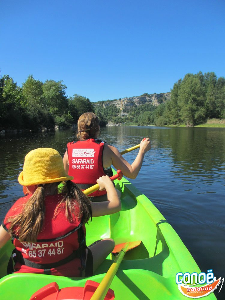 Balades en canoë sur la Dordogne avec Canoë Safaraid